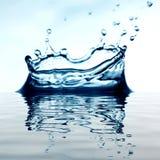 Splash reflect Royalty Free Stock Image
