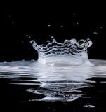 Splash reflection Stock Images