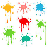 Splash set vector Stock Photos