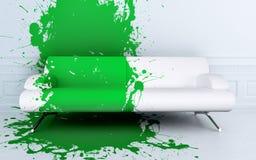 Splash sofa Royalty Free Stock Photo