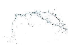 Splash of water. Isolated on a white background Stock Images