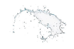 Splash of water Royalty Free Stock Image