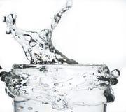 Splash water. Splash watwr,creative splash water Royalty Free Stock Images
