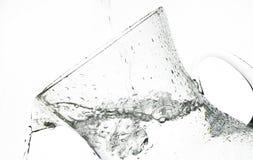 Splash water. Jug ,jet of water Stock Photo