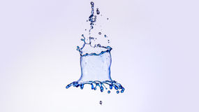 A splash of water Royalty Free Stock Images