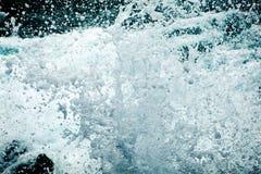 Splash of water. Beatiful splash of water waves Stock Photos