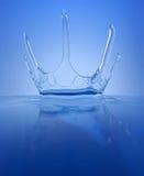 Splash - water crown Stock Images