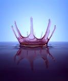 Splash - water crown Stock Image