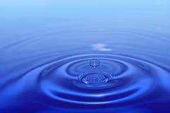 Splash water drop Stock Photography