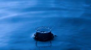 Splash! water droplet Royalty Free Stock Photo