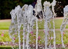 Splash of water in the fountain Royalty Free Stock Photography