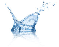 Splash water Stock Image