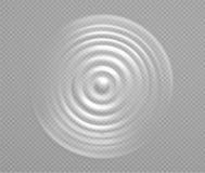 Splash water or milk, wave from drop. Pulsating circular vortex of liquid, top view vector illustration