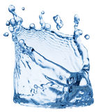Splash of water in the shape of crown. Stock Photography