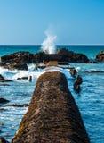 Splash Wave Hole Stock Photography