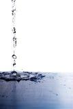 Splash on white Royalty Free Stock Photo