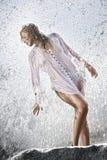 Splashed Royalty Free Stock Photography