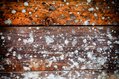 Splashed Wooden Texture Background Stock Photography