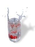 Splashes 1 on white stock photo