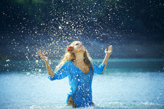 Splashes Stock Photo
