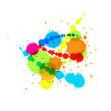 Splashes Abstract Background Royalty Free Stock Image