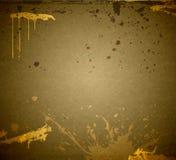 Splashes against a gunrgy background Stock Image