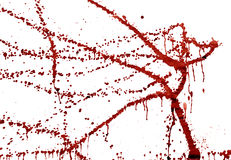 Splashes of blood Stock Photography