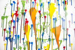 Splashes of color Royalty Free Stock Images