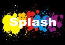 Splashes design Royalty Free Stock Image