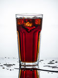 Splashes of drink Stock Photo