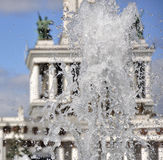 Splashes of a fountain. Royalty Free Stock Photos