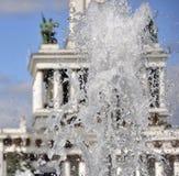 Splashes of a fountain. Royalty Free Stock Photos