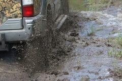Splashes of mud Stock Image