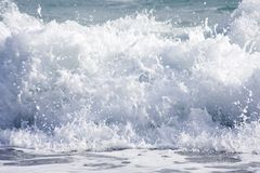 Splashes of sea foam Royalty Free Stock Photos