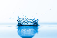 Splashes of water Royalty Free Stock Photo