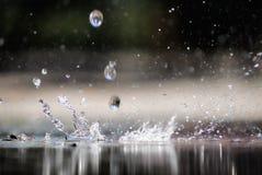 splashing Imagen de archivo