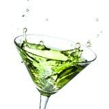Splashing alcohol Royalty Free Stock Images