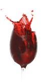Splashing Cherry Juice Stock Image