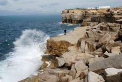 Splashing Coast Royalty Free Stock Image