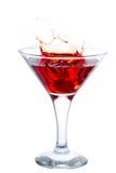 Splashing Cocktail Royalty Free Stock Photography