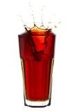 Splashing Cola Stock Photos