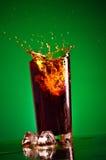 Splashing Cola Royalty Free Stock Photos