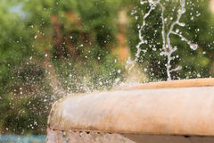Splashing fountain Stock Image