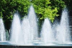 Splashing fountain Royalty Free Stock Images