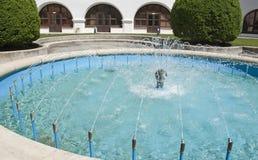 Splashing fountain Royalty Free Stock Photography