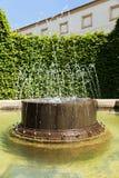 Splashing fountain Stock Image