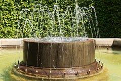 Splashing fountain Royalty Free Stock Image