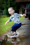 Splashing Fun! stock image