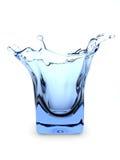 Splashing glass royalty free stock photos