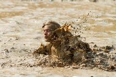 Splashing and making a mess Royalty Free Stock Photos